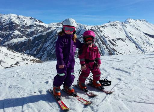 slalomskidor barn